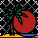 Sky Beach Sun Icon