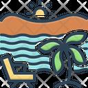 Beach Seaside Seashore Icon
