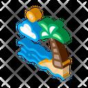 Beach Graphic Ocean Icon