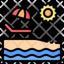 Beach Sea Island Icon