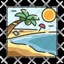 X Beach Icon