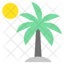 Palm Tree Tropical Icon
