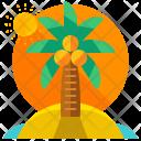 Summer Beach Island Icon