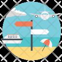 Planning Travel Journey Icon