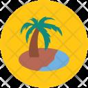Tree Palm Beach Icon