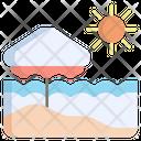 Beach Sea Ocean Icon