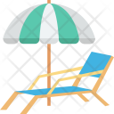 Beach Pool Side Icon