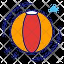 Beach Game Volleyball Beach Ball Icon