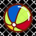 Beach Ball Ball Sea Ball Icon