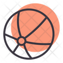 Beach Volleyball Game Icon