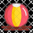 Beach Ball Ball Beach Volleyball Icon