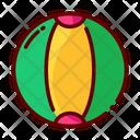 Beach Ball Parachute Ball Pool Toy Icon
