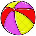 Beach Ball Icon