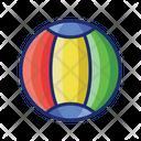 Beach Ball Ball Play Icon
