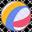 Beach Ball Water Ball Parachute Ball Icon