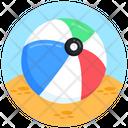 Beach Ball Sports Parachute Ball Icon