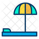 Beach Bed Icon