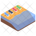 Beach Beds Icon