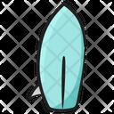 Beach Board Funboard Longboard Icon