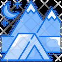 Beach Camping Icon
