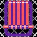 Beach Chair Beach Umbrella Chair Icon