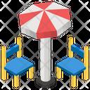 Beach Chairs Icon