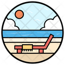Beach Deck Icon