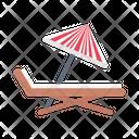 Beach Deck Beach Deck Icon