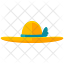 Sunhat Beach Hat Icon