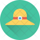 Beach Hat Floppy Icon
