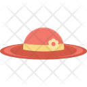 Hat Beach Summer Icon