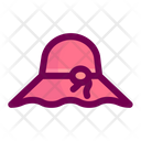 Beach Hat Hat Cap Icon
