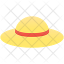 Beach Hat Icon