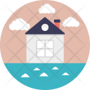 Beach House Cottage Icon
