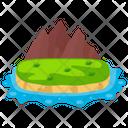 Beach Island Icon