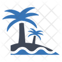 Sea Beach Island Icon