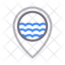 Beach Location Icon