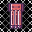 Beach Mattress Icon