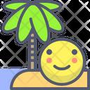 Beach Palm Beach Palm Icon