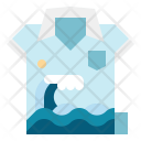 Beach shirt Icon