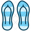Beach Slipper Slipper Footwear Icon