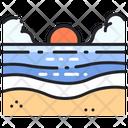 Beach Sunshine Beach Summer Icon