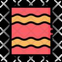 Beach Towel Sleeping Icon