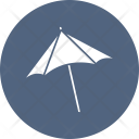 Beach Umbrella Shade Icon
