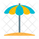 Beach Protection Summer Icon