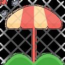 Beach Umbrella Umbrella Beach Icon