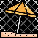Beach Umbrella Beach Umbrella Icon