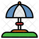 Beach Umbrella Vacation Holiday Icon