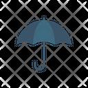 Beach Umbrella Summer Umbrella Icon
