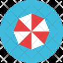 Beach Umbrella Sea Icon